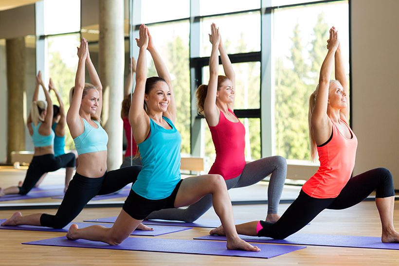 Fit­ness­kurs Yoga